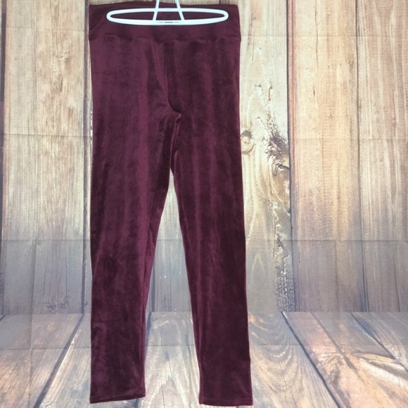 0661f8338876df Cuddl Duds Pants | Double Plush Velour Legging | Poshmark